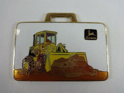 John Deere Front End Loader Richards Machinery Corp. Metal Watch Fob