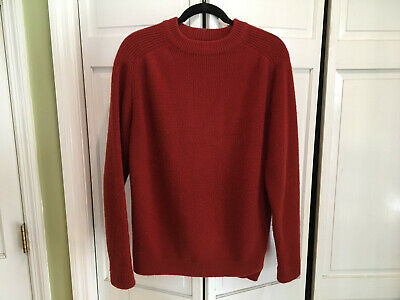Vintage 70s Patagonia Wool Crewneck Sweater BIG LABEL Knit Men's XL