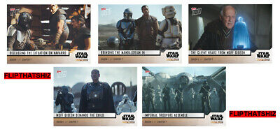Star Wars: The Mandalorian TOPPS NOW 5-Card Pack S1 - Chapter 7 #31-35 Baby Yoda