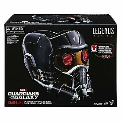 Marvel Legends Electronic Guardians of the Galaxy Star Lord Helmet IN STOCK