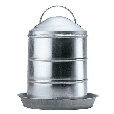2 Gal Galvanized Poultry Waterer