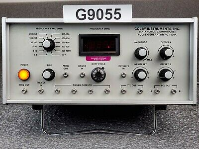 Colby Instruments PG1000A Pulse Generator 1MHz to 1000MHz