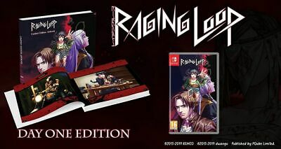 Raging Loop Day One Artbook Edition Nintendo Switch * NEW SEALED PAL *