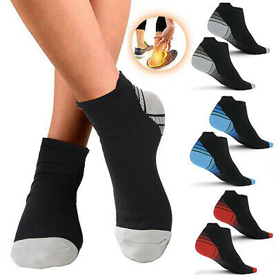 Copper Arthritis Compression Socks Foot Plantar Support Running Gym Pain Relief
