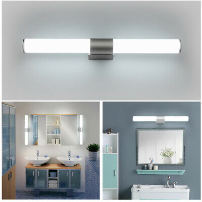 Bathroom Sconce Modern Mirror Front Light Wall Fixtures LED Lamp Vanity Toilet