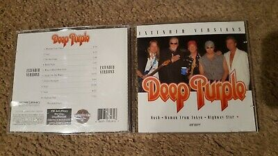 Deep Purple CD Live Extended Versions in Australia & Hong Kong 2001