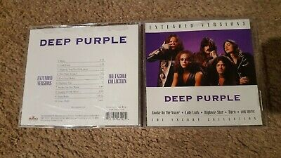Deep Purple CD Live Extended Versions The Encore Collections
