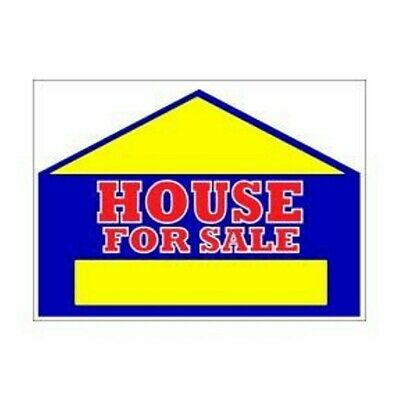 """19"""" x 24"""" 2 Sided House For Sale Sign"""