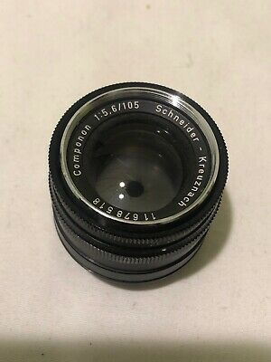 SCHNEIDER KREUZNACH COMPONON-S 5,6/135 Camera Lens With Caps Made In Germany