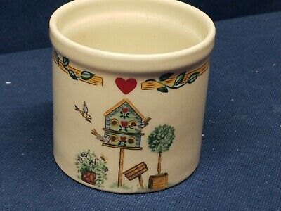 Thomson Pottery Birdhouse Collection, Votive Candle Holder VERY NICE