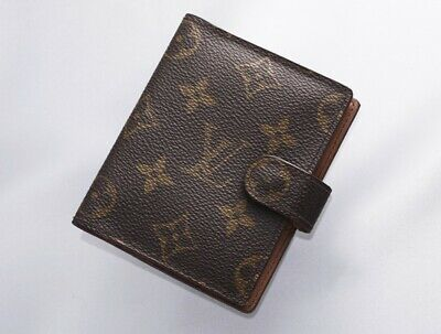 H7664M Authentic Louis Vuitton Monogram Agenda Notebook Cover Mini