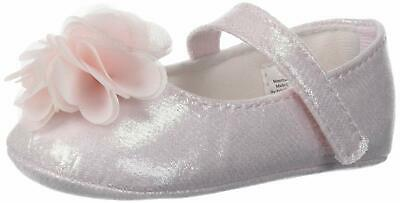 Baby Deer Kids' 01-4316 Mary Jane Flat, Pink, Size 3 Child US Toddler