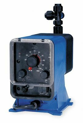 Pulsatron Diaphragm Chemical Metering Pump, Adjustable Output, 120.00 gpd Max.
