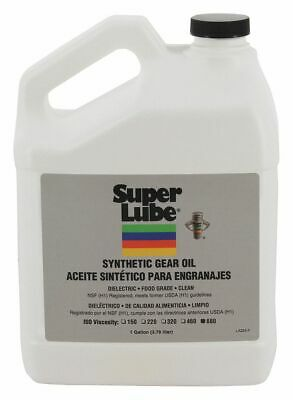 Super Lube Synthetic, SAE Grade : 140, 1 gal. Bottle Translucent Clear   54601