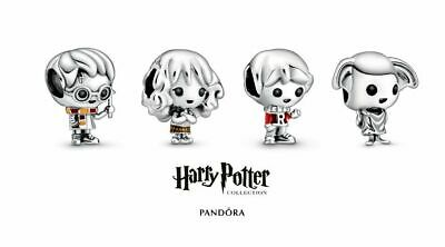 NEW-AUTHENTIC-GENUINE- harry potter Pandora charms sliver sterling