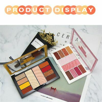 Professional Matte Eyeshadow High-light Palette Long-lasting Cosmetic 10 Colour