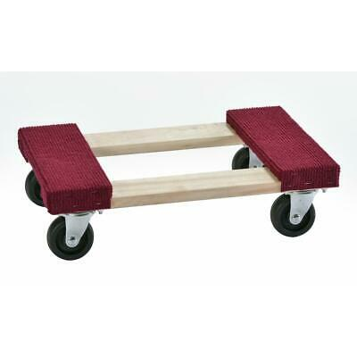 Muscle Carts 1000 Lb. Capacity Wood Furniture Dolly