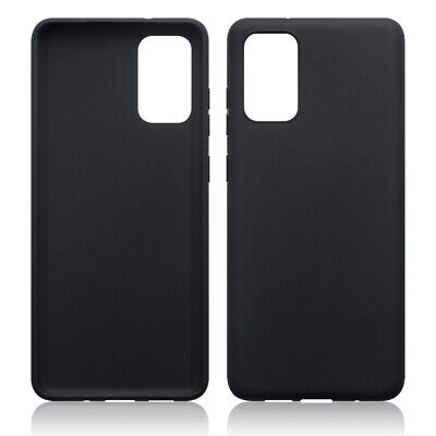 TPU Gel Case / Cover for Samsung Galaxy S20 Plus - Solid Black Matte Finish