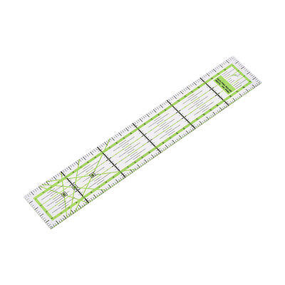 30cm Super Precision Quilting Ruler, Non Bulky for Tight Areas High Visibility