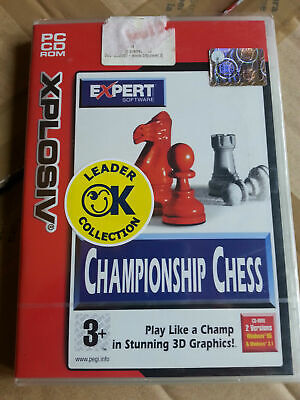 Championnship chess game gioco pc nuovo italiano sigillato