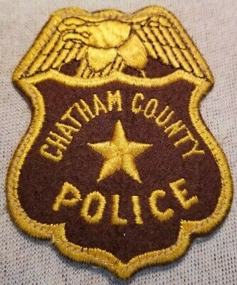 CHATHAM COUNTY GEORGIA GA PUBLIC SCHOOLS Crossing Guard CAMPUS POLICE PATCH