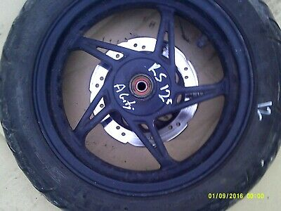 kymco agility rs 125 front wheel tyre disc 12 ich  2015 rear drum model