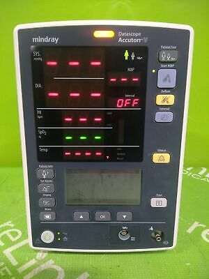 Mindray Medical Datascope Accutorr V Vital Signs Monitor