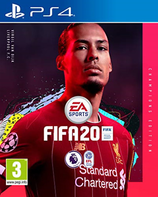 Playstation 4-FIFA 20 CHAMPIONS EDITION GAME NEW