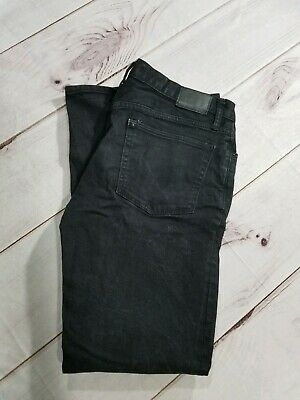 Gap 1969 Gap For Good - Skinny Black Jeans Size 33x32 Inseam 31""