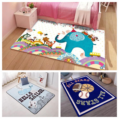 Play Rugs Mat for Toddlers NEW Different Design Whale, Jurassic, Airplane, Sport