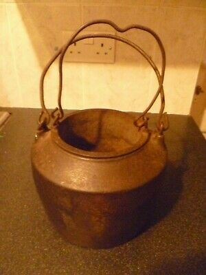 Large Antique Cast Iron Glue Pot/Pots