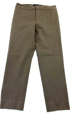 Nydj Women's Taupe Brown Ankle Skinny Seamed Leg Casual Pants Size 8