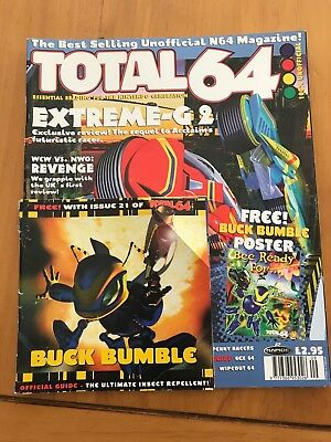 Total64 - Issue 21 - Unofficial Nintendo 64 Magazine w/ Buck Bumble Guide