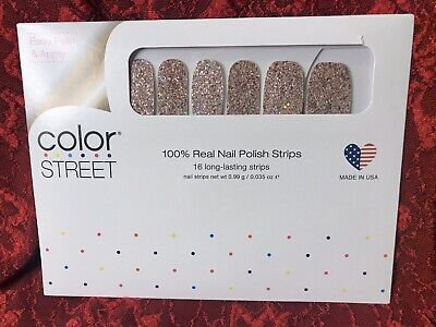 COLOR STREET Nail Strips - Tokyo Lights Glitter -  FREE SHIPPING