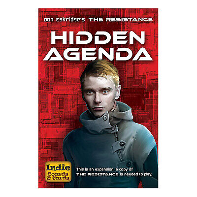 The Resistance: Hidden Agenda Expansion- NEW Board Game - AUS Stock