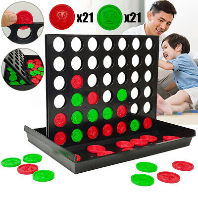 Connect In A Row 4 In A Line Board Kids Game Toy Set Family Fun Travel Universal
