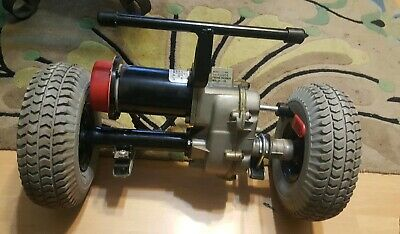 Mobility Scooter TE-888 Part-Motor & Brake Assembly & Transaxle Assembly w/Wheel