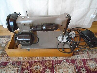 Vintage Singer 201K23 Aluminium Electric Sewing Mach.Parts or Repair.