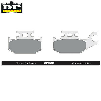 DP Sintered Off-Road Front Right Brake Pads DP920 CAN-AM Outlander 800 R 2011