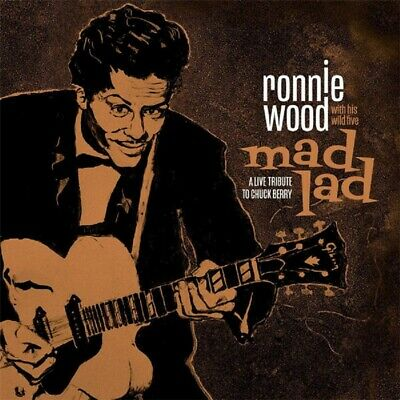 RONNIE WOOD Mad Lad A Live Tribute to Chuck Berry CD 2019 NEW The Rolling Stones