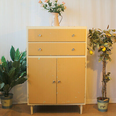 Vintage Painted Tallboy / Drawers / Cupboard Shabby Chic Paint Project ?