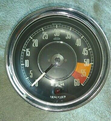 Original British Jaeger Manual Rev - Counter / Tachometer RVI