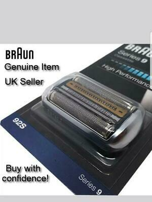 Genuine Braun Shaver 92S Series 9 Replacement Foil Cartridge - Silver