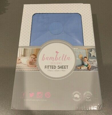 Bambella Designs Fitted Cot Sheet BNIB