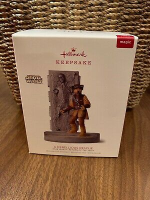 Hallmark Ornament Disney Star Wars Leia Jedi Han Solo 2018