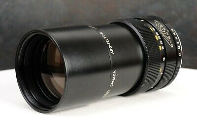 :Leica Leitz APO-TELYT-R 180mm f3.4 3-Cam Modified Telephoto Lens w/ Box (BG)