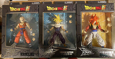 IN STOCK! Dragon Ball Stars Action Figure Wave 14 Set of 3 by Bandai
