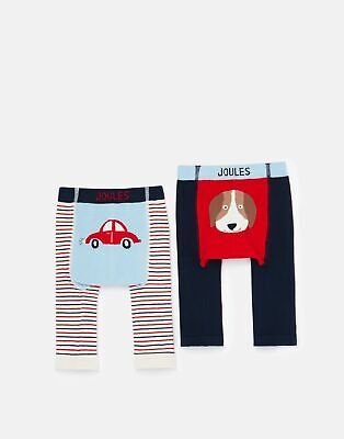 Joules 208565 2 Pack Character Leggings - CAR AND DOG
