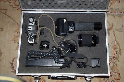 Canon AE-1 Camera With 3 Lenses -Metal Case And  Flash Accessories