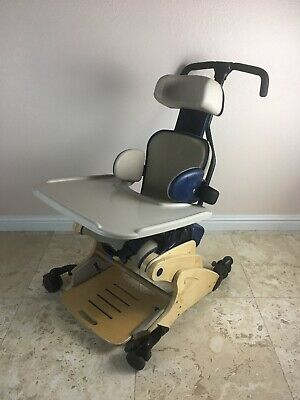 Rifton Child Kids Special Needs Activity Chair Desk Rolling Blue R631 Small